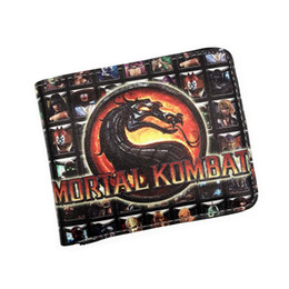halo games 2019 - Wholesale- Game Short Wallet Mortal Kombat Thor Saw Inside Out Chucky Thundercats LOL Halo Purse Credit Oyster License C