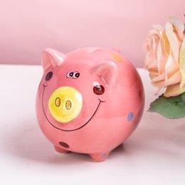 $enCountryForm.capitalKeyWord Australia - Ceramic Mini Piggy Pig Bank Coin Box colorful (6 colors) pink blue orange yellow