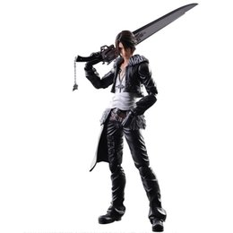 $enCountryForm.capitalKeyWord UK - Play Arts Squall Leonhart Anime Figure Action Figures CollectibleMoble Hot Toys Birthdays Gifts Doll New Arrvial PVC