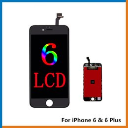 Iphone Screen Best Australia - Grade A+++ LCD Display For iPhone 6 Touch Digitizer Complete Screen with Frame Full Assembly Replacement For iPhone 6 Plus, The Best LCD!!!