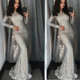 $enCountryForm.capitalKeyWord NZ - 2019 Shiny Sequins Mermaid Prom Dresses Elegant Off Shoulder Tassel Evening Gowns Trumpet Ankle Length Split Cocktail Party Gowns