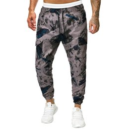 $enCountryForm.capitalKeyWord UK - Men's Fashion Printed Long Jeans Slim Fit Pants Causal Trousers Full Length Sport Accessories Pants 40LY10