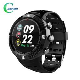 Water Resistant Gps Australia - F18 Waterproof IP68 GPS Smartwatch Support Swimming Smart bracelet New Call Message Reminder Watch Pedometer Tracker