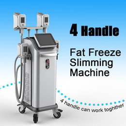 Shape Slim Machine NZ - 2019 cryolipolysis fat removal beauty device cryolipolysis freeze fat system cryolipolysis body shape slimming Machine with 4 handles