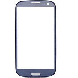 $enCountryForm.capitalKeyWord Australia - Pebble Blue Front Outer Touch Screen Glass Lens Replacement for Samsung Galaxy s3 i9300