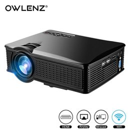 $enCountryForm.capitalKeyWord Australia - OWLENZ SD60 Multi-screen Mini Portable Projector 1500 Lumens HD LED Home Cinema Support Miracast Airplay Wifi Proyector Beamer