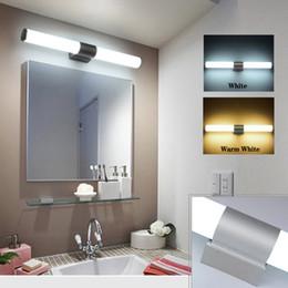 Acrylic tube light online shopping - 12W W W Wall Lamp AC85 V Led Mirror Light Makeup Lights Waterproof LED Tube Modern Acrylic Wall Light Bathroom Lighting