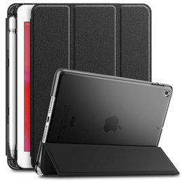 Tab pen online shopping - Case Cover with Pencil Pen Holder For iPad Air Mini Pro Samsung Tab A S