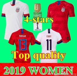$enCountryForm.capitalKeyWord NZ - 2019 4 Star girls Women 13 Alex Morgan Jersey Soccer Julie Ertz 10 Carli Lloyd Lady Crystal Dunn Rapinoe Harris Heath Football Shirt