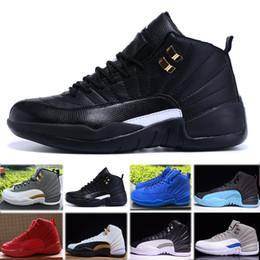 best sneakers c14c9 ef6c0 Nike air jordan 12 retro2018 neue billige 12 wolle XII beiläufige schuhe  Hohe Schnittstiefel Hohe qualität schuhe J12 Schwarz Weiß designer schuhe  Freies ...