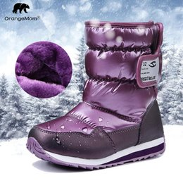 $enCountryForm.capitalKeyWord NZ - -30 Degree Russia Winter Warm Baby Shoes , Fashion Waterproof Children's Shoes , Girls Boys Boots Perfect For Kids Accessories Y190523