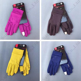 $enCountryForm.capitalKeyWord Australia - Anti-skid U&A Touch Screen Gloves Winter Warm Fleece Unisex Driving Gloves Skiing Cycling Touchscreen Glove Cell Phone Telefingers C9505