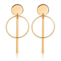 $enCountryForm.capitalKeyWord UK - Korean temperament personality simple hollow Tassel earrings ear nail long pendant ear jewelry