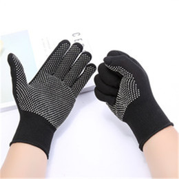 style straight hair flat iron Australia - 1 Pair Heat Resistant Protective Glove Hair Styling For Curling Straight Flat Iron Work gloves Safety gloves High Quality