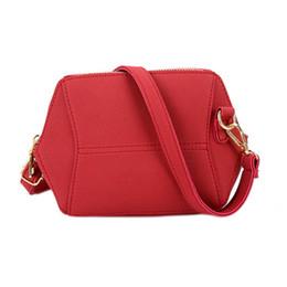 9e5335d04da9 Fashion Korean Women Messenger Bags Leather Solid Color Zipped Matte Purse  Casual Retro Ladies Crossbody Shoulder Bag Fab