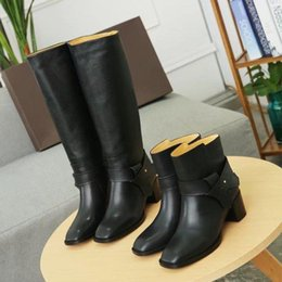 $enCountryForm.capitalKeyWord Australia - Imported first layer Cowhide leather long boots short boots Women Riding Rain Boot BOOTS BOOTIES SNEAKERS Dress Shoes