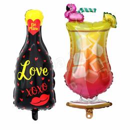 $enCountryForm.capitalKeyWord NZ - New flamingo balloons wine glass balloon party decoration wine bottle aluminum film balloon bar party decoration balloon T2I5012