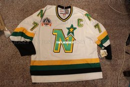 quick cup Australia - Cheap custom 1990-91 CCM Neal Broten Minnesota North Stars Stanley Cup Jersey Mens Personalized stitching jerseys
