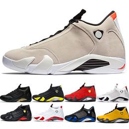 $enCountryForm.capitalKeyWord Australia - 2019 Designer 14 Candy Cane 14s Men Basketball Shoes The Last Shot Black Whit Red Yellow Mens Trainer Athletic Sport Sneaker