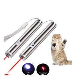 Pen Animations Australia - Pet Cat Toys Laser Funny Cat Stick Laser Pointer light Pen With Bright Animation Laser Pointer Pen Cats Accessories