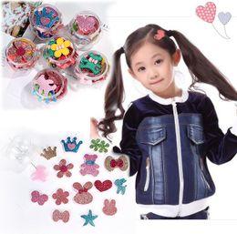$enCountryForm.capitalKeyWord Australia - Girls Hair Accessories Creative cartoon loveliness Hoo k&Loop hair accessory Stabilizer Front Hair Grip Bang Sheets Princess boxed headdress