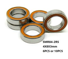 Si3n4 ball online shopping - 6pcs x8x3mm SMR84 RS SMR84 RS RS ABEC Stainless Steel hybrid si3n4 ceramic bearing fishing reel bearings mm