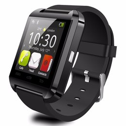 smart watch phones for samsung Australia - U8 BT Fitness Bracelet Wearable Touch Screen Sports Call Reminder Smart Watch Wrist Watches For iPhone 7 IOS Samsung S8 Android Phones