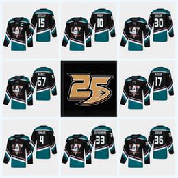 c0f979e19 Mens Women Youth Anaheim Ducks 25th 15 Ryan Getzlaf 17 Ryan Kesler 10 Corey  Perry 36 John Gibson 4 Fowler 67 Rakell 2019 Third Hockey Jersey