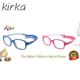 41332f68c795 Kirka Flexible Kids Eyeglasses Frame TR90 Children Glasses Unbreakable Safe  Light Boys Girls Optical Glasses Frame Kids