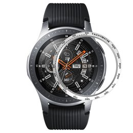 orange gear NZ - Metal Bezel Styling for Samsung Galaxy Watch 46mm 42mm Case Gear S3 Frontier Classic Sport Anti Scratch Cover Protection Accessories