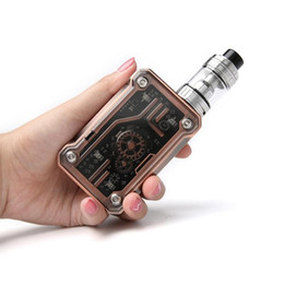 h8 kit Australia - New Tesla Punk Kit with Punk 200W Box Mod 5ml Teslacigs H8 Tank E Cigarette Kit