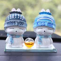 Refresh Car Australia - New car perfume seat, creative cartoon doll, car crystal ornament, car interior accessories, cute little refreshing.