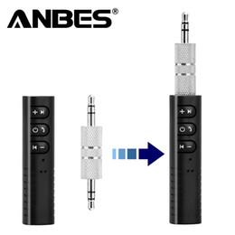 Bluetooth Aux 3,5 millimetri Kit Jack Bluetooth Car Kit vivavoce ricevente di musica Audio Adapter Auto AUX per l'altoparlante Bluetooth Stereo in Offerta