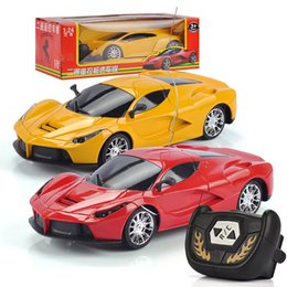 Speed controllerS online shopping - RC Car Radio Remote Control Cars Drift Speed Racing Xmas Gift For Children Yellow Red Fashion Cool High Quality ss D1