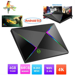 Best Android Media Box Australia - Best sellers M9S Z8 Android 9.0 TV Box With H6 Quad Core CPU 4GB 32GB 64GB Streaming Media Player Support 2.4G Wifi PK S905X2 RK3328