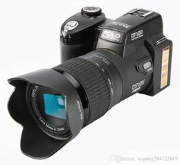 Slr Lens NZ - New 33MP HD D7300 Digital DSLR Camcorder Camera Wide Angle Lens 24x Optical Telescope Lens D7000 D7100 Stock Free DHL