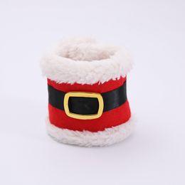 $enCountryForm.capitalKeyWord NZ - Dropshipping 4Pcs Napkin Ring Holders Banquet Dinner Table Christmas Ornament Santa Claus Party Decor MDP66