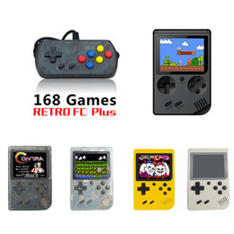 $enCountryForm.capitalKeyWord Australia - CoolBaby RS-6A Mini Handheld Game Consoles Portable Retro game player double video Game Machine 3.0 inch TFT Color LCD 168 games