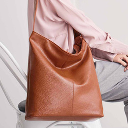 Big Ladies Handbags NZ - 2019 New Trend Fashion Women Handbag Pu Leather Women Bags Large Capacity Tote Big Ladies Shoulder Bags High Quality Wholesale