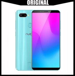 Mini Phones Sim Australia - ZTE Nubia Z18 Mini 5.7 inch Android 8.0 Face ID Smart Phone 6GB RAM Octa Core Snapdragon 660 AIE Dual Rear Camera 24.0MP+5.0