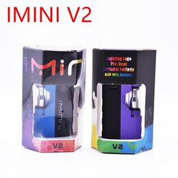 $enCountryForm.capitalKeyWord Australia - Original imini VII 2 Vaporizer kit 650mAh Preheat Voltage Control Battery with Upgraded Liberty V1 Thick Oil Vape Cartridges Atomizers