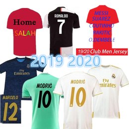 4979db08 Top 2019 2020 Real Madrid RONALDO white soccer jersey football mens  designer t shirts ISCO SERGIO RAMOS camiseta de fútbol maillot de foot