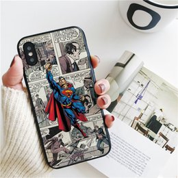 superman iphone cases 2020 - Capa Luxury Superman Collage Cover for iPhone 11 Pro Xs Max Xr Case for iPhone 8 7 6s Plus 5S SE 5 Case Soft Silicone Co