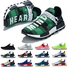$enCountryForm.capitalKeyWord Australia - NMD HUMAN RACE boost shoes Pharrell Williams Mc Tie Dye Solar Pack Mother designer Fashion golden Casual mens Sports Shoes