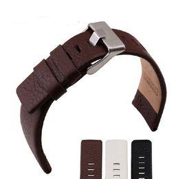 $enCountryForm.capitalKeyWord UK - Brand BAND DZ4216 1405 1542 4210 4296 New Top Genuine Leather Watchband 22 24 26 28 30mm Watches Band Strap Belt Free Shipping