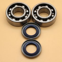air cylinder bore Australia - Crankshaft Ball Bearing Oil Seal Set For HUSQVARNA 254 257 262 357 359 51 55 Chainsaw Parts