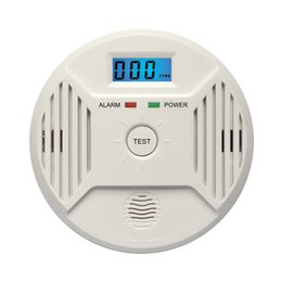 $enCountryForm.capitalKeyWord Australia - Digital CO Carbon Monoxide Poisoning Smoke Gas Sensor Warning Alarm Detector Safety LCD Poisoning Gas Warning Sensor