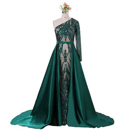 $enCountryForm.capitalKeyWord UK - Luxury Evening Dresses Backless Beaded Sweep Train Prom Gown Party Bridal Guests Gowns Plus Size Robes De Soirée