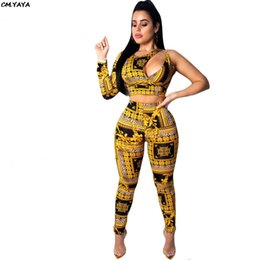 df66fc641d39 Cut Out Pants Australia - women new paisley vintage printed one long sleeve cut  out bust