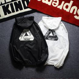 Nueva anorak protector solar chaqueta cortavientos streetwear hip hop kanye west cortavientos jaqueta masculina marca ropa negra en venta
